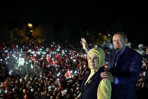 [Newsmaker] Turkey's pugnacious chief Erdogan wins again