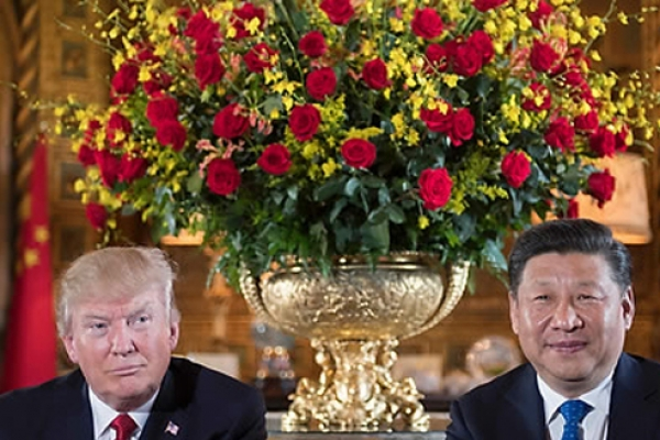 Trump says it makes no sense to start trade war with China when Beijing trying to help with NK