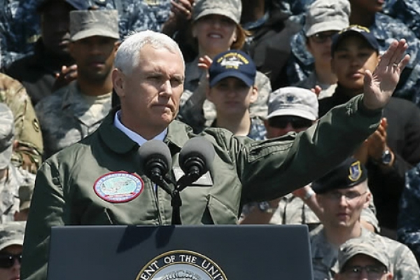 Pence: No negotiations with NK 'at this time'