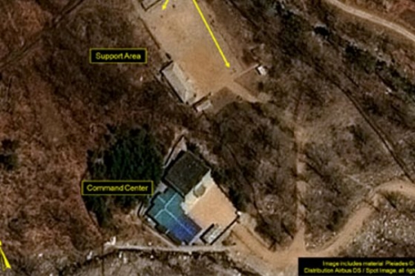 Little activity at N. Korea's nuclear test site: 38 North