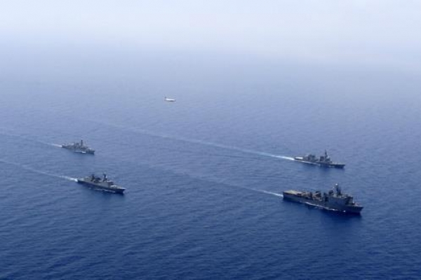 Korea joins multilateral anti-piracy exercise in Gulf of Aden