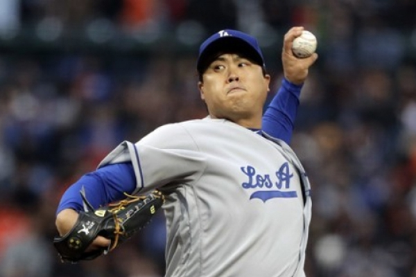 Dodgers' Ryu Hyun-jin suffers 4th straight loss despite strong outing