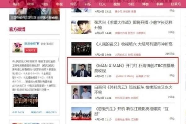 'MAN x MAN' receives heavy media spotlight in China: agency