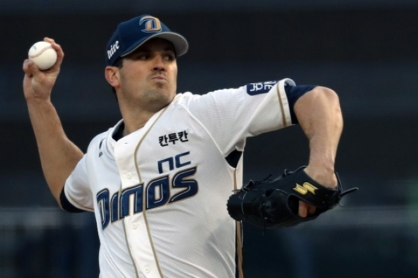Ex-MLB pitcher sets Korean baseball record for winning streak
