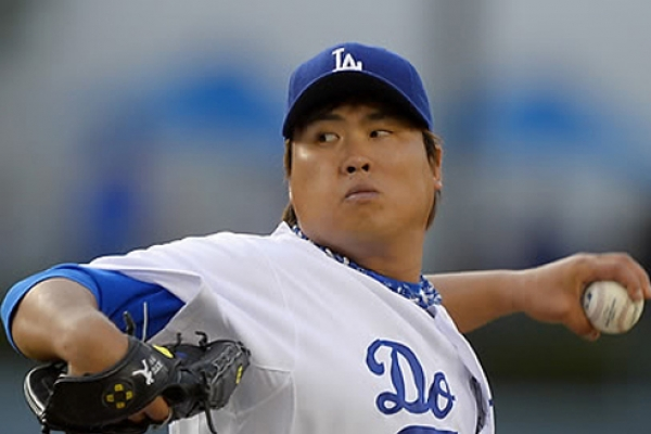 Dodgers' Ryu Hyun-jin collects 1st big league win since 2014