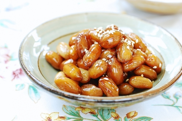 [Home Cooking] Snack on ddangkong jorim