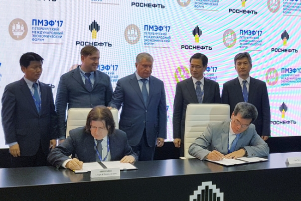 [Photo News] Hyundai Samho signs an agreement with Russia's Zvezda Shipbuilding