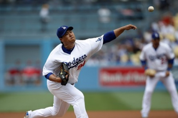 Dodgers' Ryu Hyun-jin hurt by long balls in shaky start