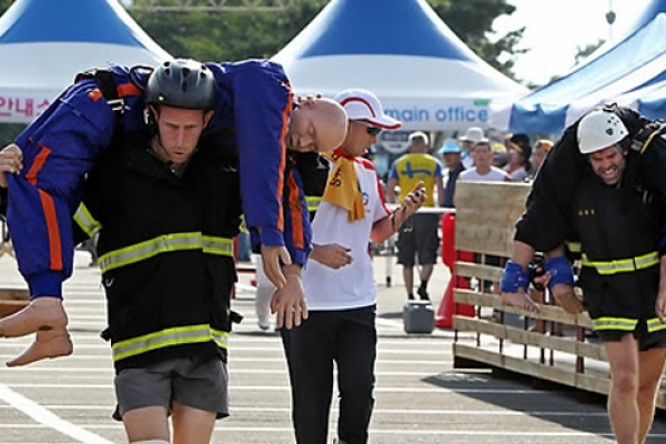 Korea to host 2018 World Firefighters Games