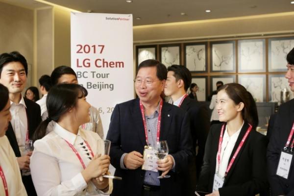 [Photo News] LG Chem seeking talent in China