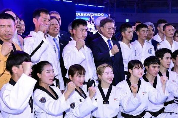 Taekwondo's world championships open with preliminary action