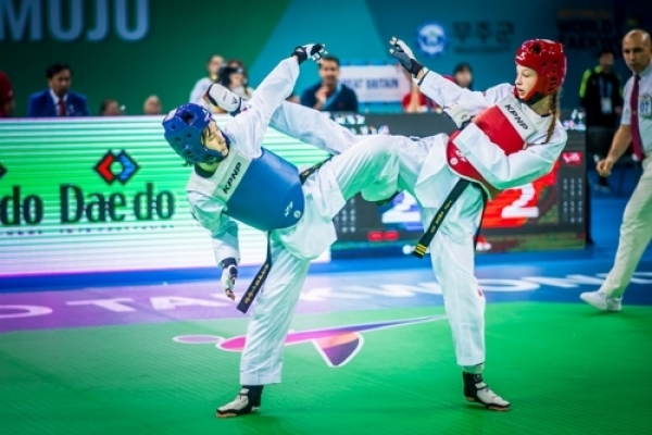 Korean Olympic champion ousted in quarterfinals at taekwondo worlds