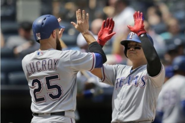 Rangers' Choo Shin-soo belts 12th homer of season, shines on defense