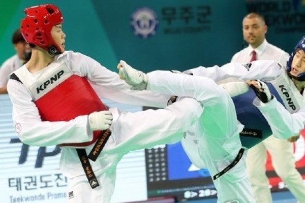 Lee Dae-hoon wins gold at taekwondo worlds
