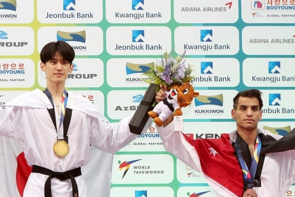 Jordanian taekwondo hero wants to learn from Korean rival