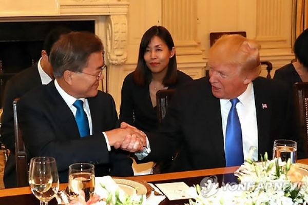Trump says discussions with Moon to include S. Korea buying more US energy