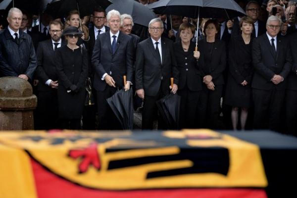 [Newsmaker] Europe pays tribute to Kohl, 'giant' of postwar era