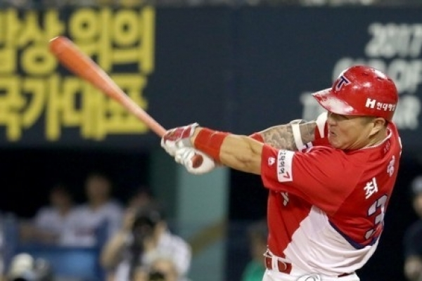 Slugging outfielder tops KBO All-Star voting