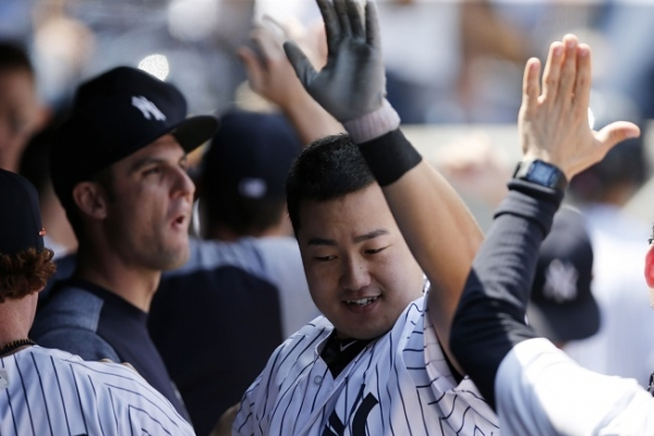 Korean Choi Ji-man homers in Yankees' debut