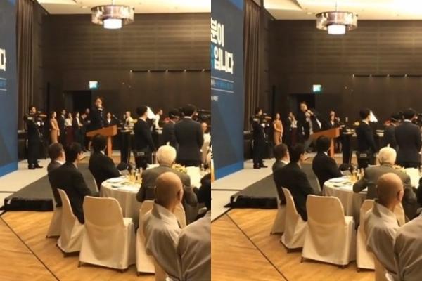 Why comedian Kim Young-chul accompanied President Moon to Berlin