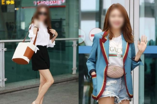 The not so casual 'airport fashion' of Korean celebrities