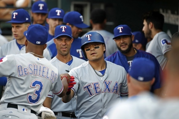Choo reaches base 4 times, Rangers still fall to Orioles