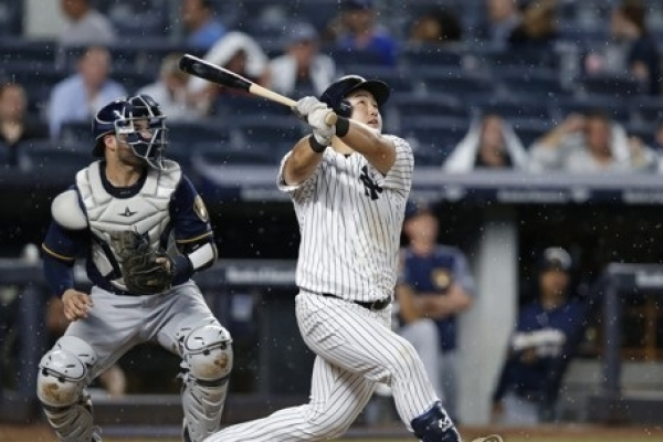 Korean first baseman outrighted to minors by Yankees