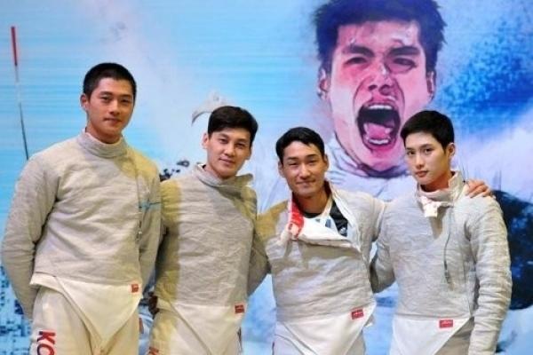 Korea wins men's team sabre gold at world championships