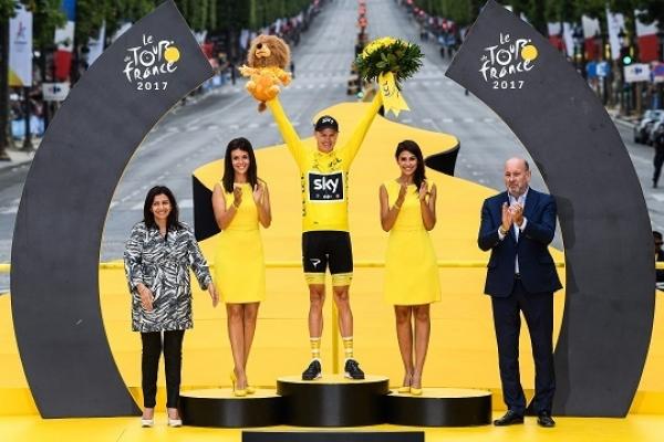 Brit Chris Froome wins 2017 Tour de France