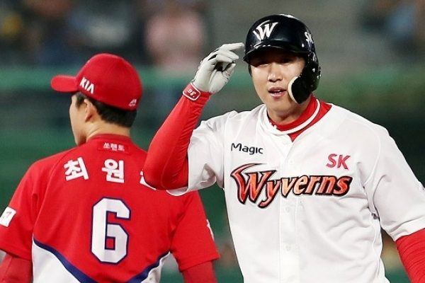 The sudden rise of Wyverns right fielder Han Dong-min