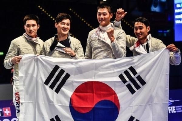 Korean fencing enjoys best finish at world championships