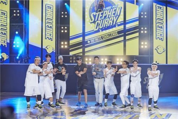 NBA star Stephen Curry to appear on 'Infinite Challenge' on Saturday