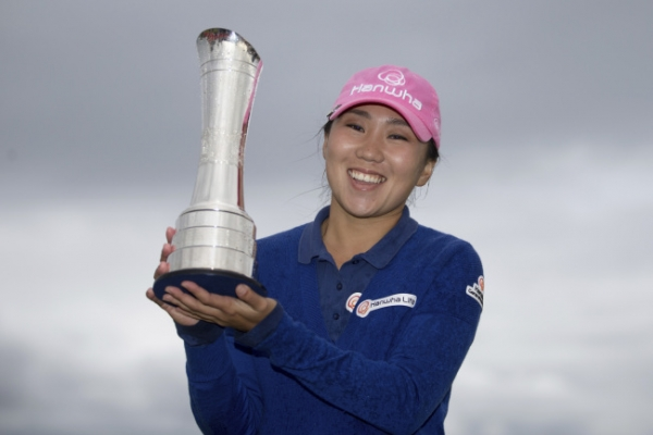 [Newsmaker] Korean Kim In-kyung wins Ricoh Women's British Open