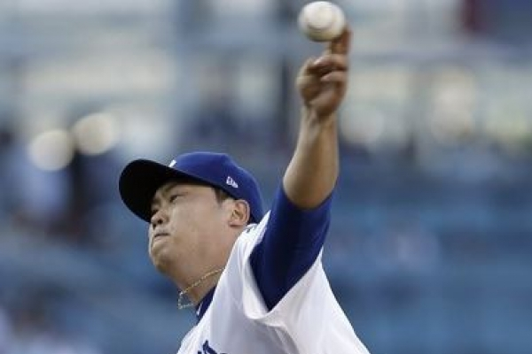 Dodgers' Ryu Hyun-jin takes no-decision after worst start in 2 months