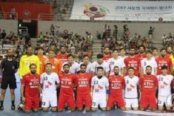 Korea, Tunisia end in draw in handball competition