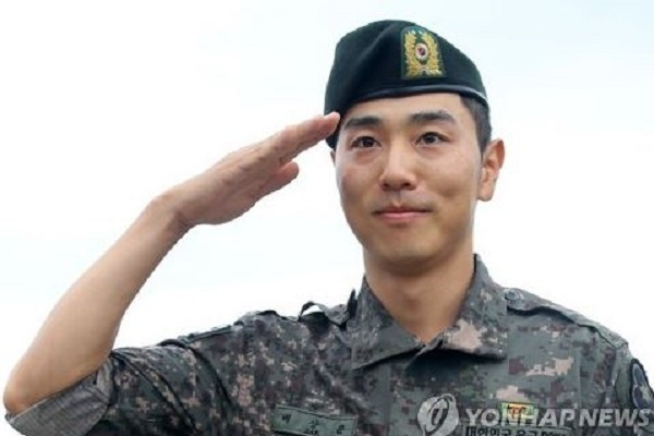 Discharged from Army, PGA golfer Bae Sang-moon gets to work immediately