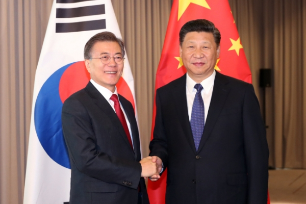 Moon proposed trilateral talks with China, US on THAAD: sources
