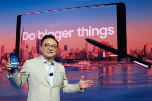Samsung unveils Galaxy Note 8 with smarter S Pen