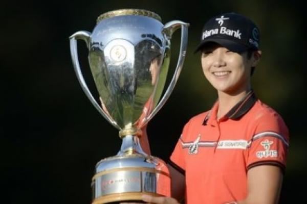 Korean rookie rallies for 2nd career LPGA win