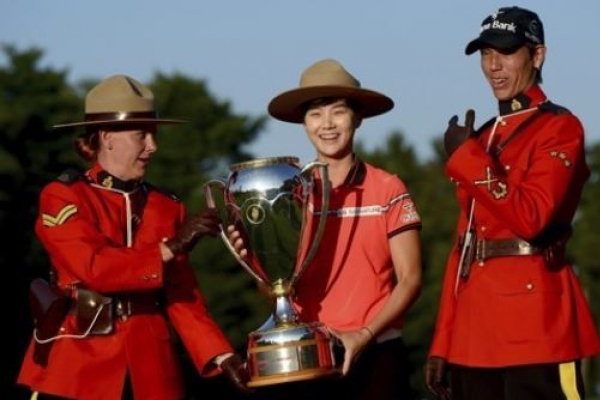 LPGA rookie phenom rides 'perfect' round to 2nd title
