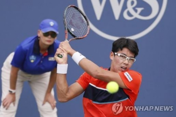 Korean achieves new career high in tennis world rankings