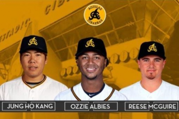 Pirates' Kang Jung-ho signs with Dominican club