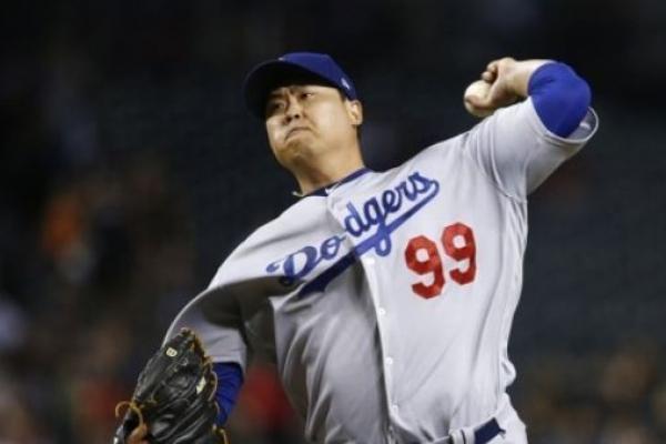 Dodgers' Ryu Hyun-jin suffers 1st loss in 2nd half