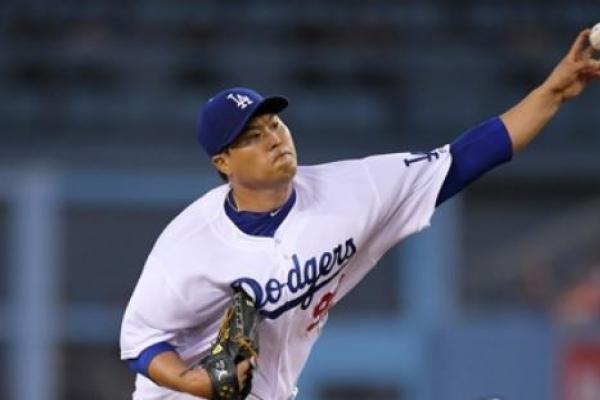 Dodgers' Ryu Hyun-jin gets no-decision vs. Diamondbacks