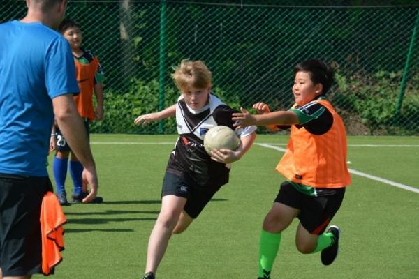 KIS promotes global friendship through football tournament