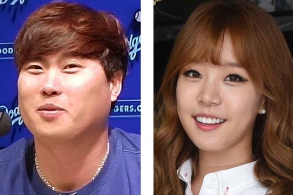 Dodgers' Ryu Hyun-jin dates broadcaster Bae Ji-hyun