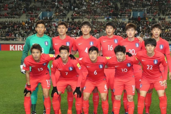 Korea falls 2 spots to 51st in FIFA rankings for Sept.