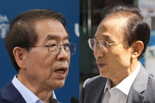 Seoul mayor files complaint against ex-president Lee over smear campaign