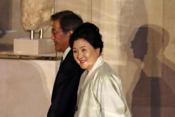 S. Korean president invites N. Korea, world to PyeongChang Olympics in New York gala