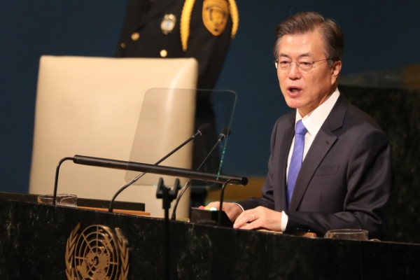 Moon calls for UN role in North Korea crisis